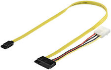 HDD S-ATA Kabel All-in-1 Datensignal + Stromadapter