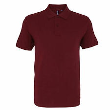 Mens 100% Ringspun Combed Cotton Short Sleeve Polo Shirt 30 Colours S – 3XL