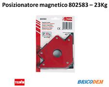 Telwin Posizionatore magnetico saldatura Squadra Magnetica kg 22 45 90 135 gradi