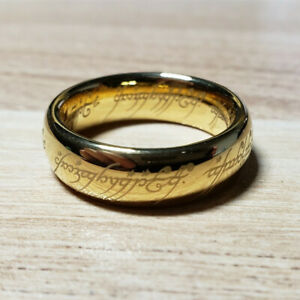 Lord of the Rings The One Ring Tungsten Jewelry Collection Best Gift