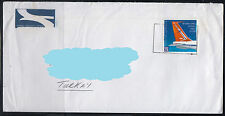 South Africa to Turkey Philatelic Cover ( Plane Airplane ) ( 496 )