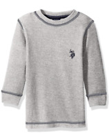 U.S. Polo Assn. Boys' Thermal Long Sleeve Shirt