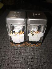 Bistro Chefs Salt and Pepper Shakers by Jennifer Garant
