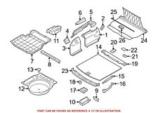 For BMW Genuine Cargo Cover Handle Rear 51476958161