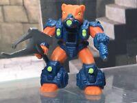 Battle Beasts Figure w Rub Sign Complete w Weapon & Rub War Weasel #24