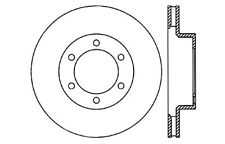 Disc Brake Rotor-High Performance Drilled and Slotted Centric 127.44127R