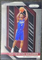 Shai Gilgeous-Alexander 2018-19 Panini Prizm Base Rookie RC #184 Clippers