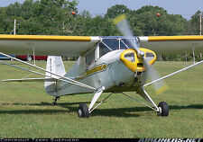 1/4 Scale Taylorcraft   9 ft Giant Scale RC Model AIrplane Printed Plans