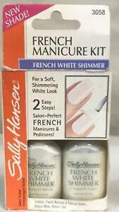 Sally Hansen French Manicure Kit  French White Shimmer 3058