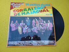 LP LOS CORRALEROS DE MAJAGUAL – 14 Exitos - FONOMUSIC 892690 (EX/VG++)