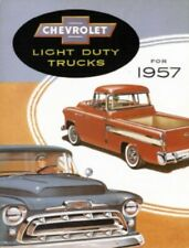 CHEVROLET 1957 Truck Sales Brochure 57 Chevy Pick Up