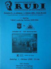 Programm 2005/06 Dresdner SC 1898 - SSV Markranstädt