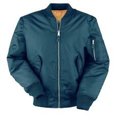 MA1 Pilot Flight Jacket Mens Water Repellent Padded Military Style Bomber