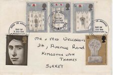 PRICE CHARLES INVESTITURE FIRST DAY COVER CAERNAVON FRANKING     POST FREE UK