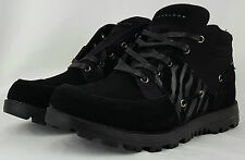 Brand New Men's Sean John Ponza Mid Boots Black Suede SIZE 9.5 Free Shipping $40