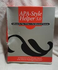 APA STYLE HELPER 5 0 SOFTWARE Listing for  damarycorchad0