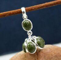 925 Sterling Silver Jewelry Heena Jasper Gemstone Daily Wear Handmade Pendant