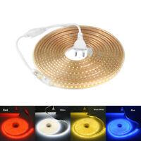 AC 220V SMD 2835 LED Strip Light 120LEDs/m Waterproof Commercial Tape Rope Light