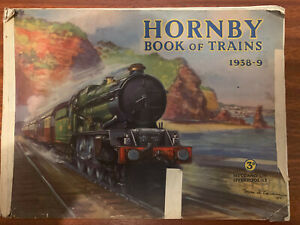 HORNBY BOOK OF TRAINS 1938-1939 O GAUGE CATALOGUE