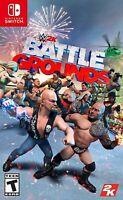 WWE 2K  Battlegrounds  ( Nintendo Switch Standard Edition)/Brand new.