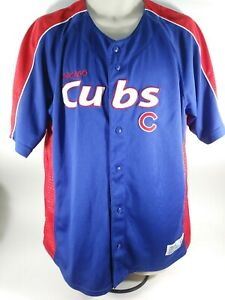 Vintage Chicago Cubs Dynasty Series Patch Logo Jersey  SIZE  XL