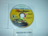 RALLISPORT CHALLENGE game only in case for MICROSOFT XBOX