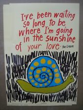 I'VE BEEN WAITING SO LONG TO BE WHERE I'M GOING VINTAGE POSTER 1970'S CNG1890