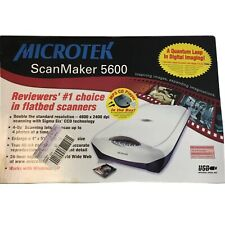 Microtek Scanmaker 5600 Scanner New In Sealed Box Free Shipping