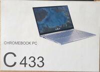 "Asus Chromebook Flip C433T 14"" FHD Core M3-8100Y 1.10GHz 4GB 64GB eMMC Touch"