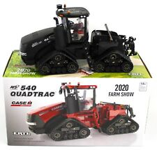 ERTL 1:32 *2020 FARM SHOW EDITION* CASE IH 540 QuadTrac Tractor BLACK CHASE NIB
