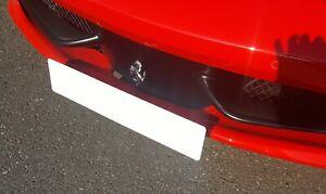 'Ferrari' 458 - Spring Loaded Quick-Change License Bracket UK MADE