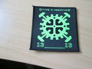 TYPE O NEGATIVE...13....WOVEN  PATCH 1993