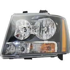 Headlight For 2007 2014 Chevrolet Tahoe 2007 2013 Avalanche Driver Side With Bulb Fits 2007 Chevrolet Suburban 1500