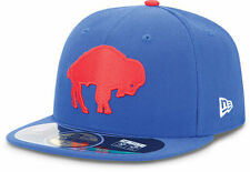 Buffalo Bills NFL New Era On Field Men's 59FIFTY Throwback Fitted Hat 6 7/8 NEW