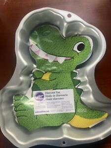 Wilton Dinosaur Cake Pan, Kids 3D Birthday Cake Pan