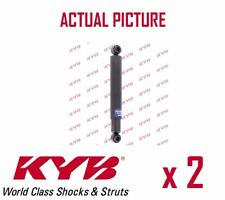 2 x REAR AXLE SHOCK ABSORBERS PAIR STRUTS SHOCKERS KYB OE QUALITY 443295