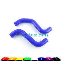 For Toyota Tacoma 3.4L V6 AT 1995-2004 Silicone Radiator Upper Lower Hose Blue