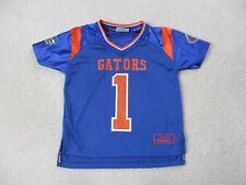 VINTAGE Florida Gators Football Jersey Youth Small Blue Orange UF Kids Boys