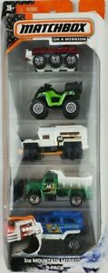 Matchbox Ice Mountain Mission diecast Toy Vehicles 5-Pack