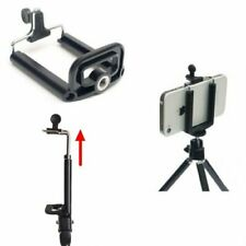 Mobile Phone Camera Bracket holder tripod Stand Clip 1/4 Mount for Phone iPhone