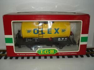 LGB Kesselwagen/Tankwagen BP OLEX, sehr guter Zustand