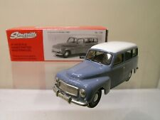 SOMERVILLE MODELS 128 VOLVO 210 DUETT 1960 BLUE/WHITE + BOX  EXC/NM SCALE 1:43