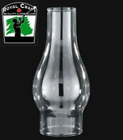 "3"" X 8 1/2"" ~ Clear GLASS Oil Lamp ~ CHIMNEY ~ Fits #2 Burner ~ #G7932"