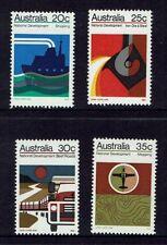 AUSTRALIA DECIMAL.....1973 NATIONAL DEVELOPMENT...SET OF 4....MUH