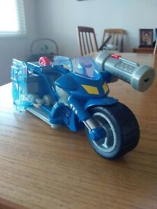 Fisher Price Rescue Heroes Police Motorcycle Missing Missile