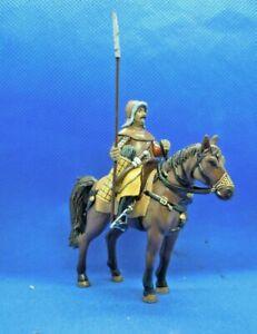 soldatini 54 mm DE AGOSTINI A CAVALLO MEDIOEVALI  antichi -soldatini di piombo