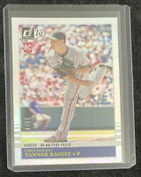 Tanner Rainey RC 2019 Donruss #209 Career Stat Line Parall #'d 19/45 Nationals