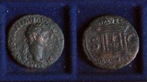As des DOMITIAN – Altar – Domitianus   As des DOMITIANUS