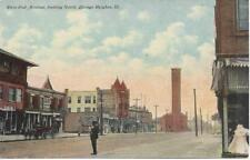 PC-Chicago Heights, West End Avenue, looking North. Businesses   See images