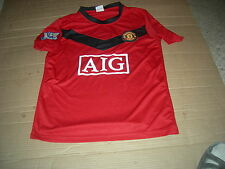 Wayne Rooney Manchester United BARCLAY'S PREMIER LEAGUE CHAMPIONS 2009/10 Jersey